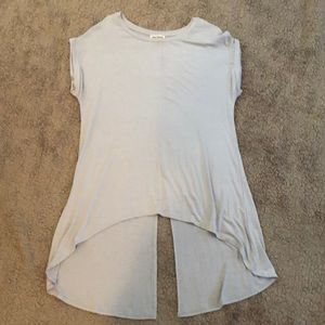 Tops - Baby Blue Blouse